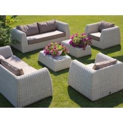 Комплект UDINE коричневый, диван (90*208*71), 2 кресла (90*108*71) и кофейный столик (100*60*33)
