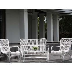 Комплект Tahiti светло коричневый: диван (122*77,5*88), 2 кресла (66*77,5*87), кофейный столик (50*100*40)